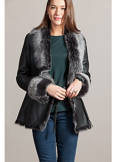 Danielle Spanish Toscana Sheepskin Coat