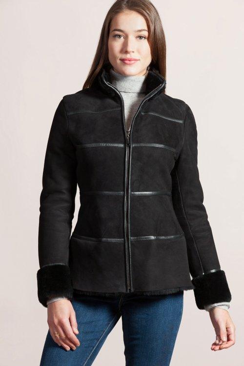 Jordan Spanish Shearling Sheepskin Coat