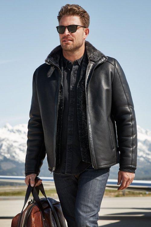 Lance Spanish Shearling Sheepskin Jacket