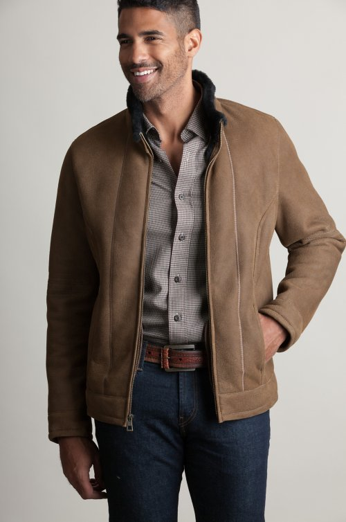 Ryan Spanish Shearling Sheepskin Jacket