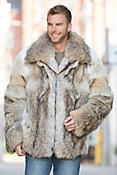 Sebastian Coyote Fur Coat