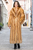 Anastasia Red Fox Fur Coat