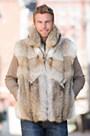 Sawyer Coyote Fur Vest