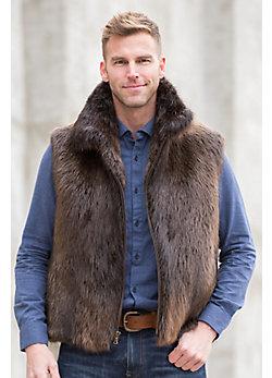 Bruce Beaver Fur Vest