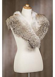 Coyote Fur Shawl Collar