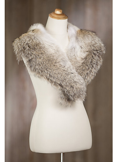 Coyote Fur Shawl Collar