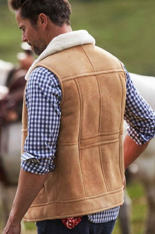 Montana Shearling Sheepskin Vest