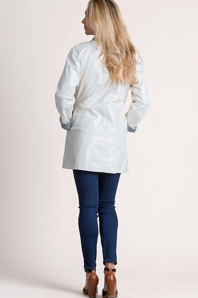 Linnea Reversible Lambskin Leather Jacket