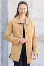 Tamarind Reversible Goatskin Suede Leather Jacket