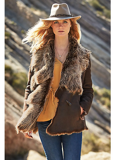 Montana Toscana Sheepskin Jacket