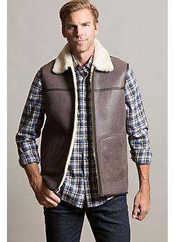 Houston Australian Shearling Sheepskin Vest