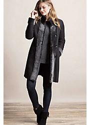 Chante Reversible Spanish Merino Shearling Sheepskin Coat