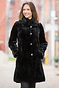 Sophie Reversible Mink Fur Coat