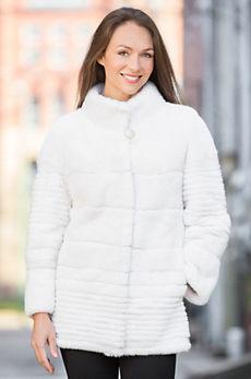 Winter Belle American Mink Fur Coat