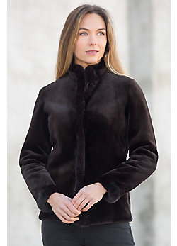 Roberta Reversible Danish Mink Fur Jacket
