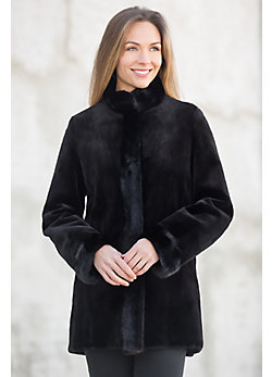 Cara Reversible Danish Mink Fur Coat