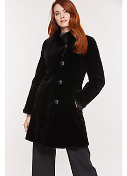 Susan Reversible Danish Mink Fur Coat