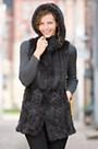 Lexi Knitted Mink Fur Vest