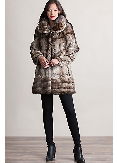 Gilda Danish Mink Fur Coat