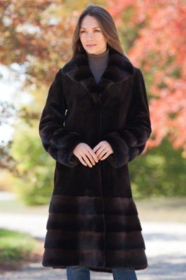 Laguna Danish Mink Fur Coat