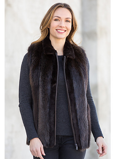Women's Beaver Fur Coats | Overland