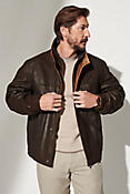 Romano Leather Jacket - Big (48-52)