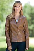 Monica Lambskin Leather Jacket