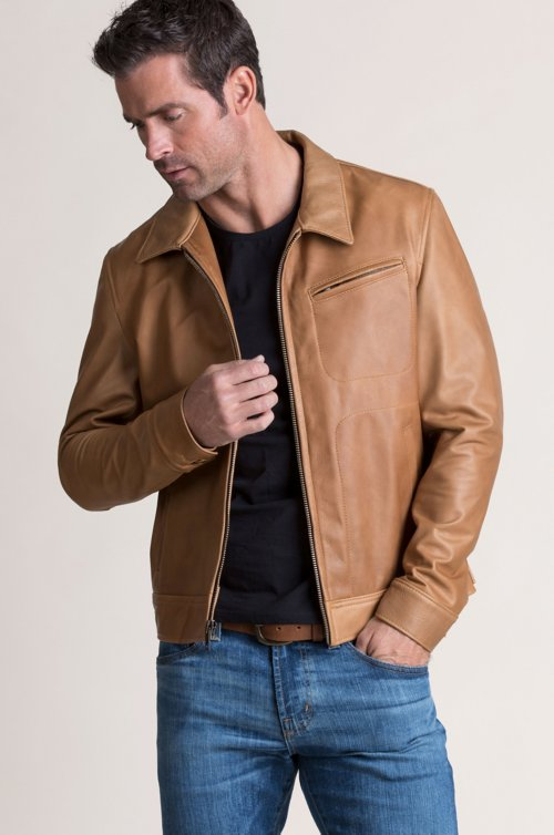Baldwin Argentine Leather Jacket