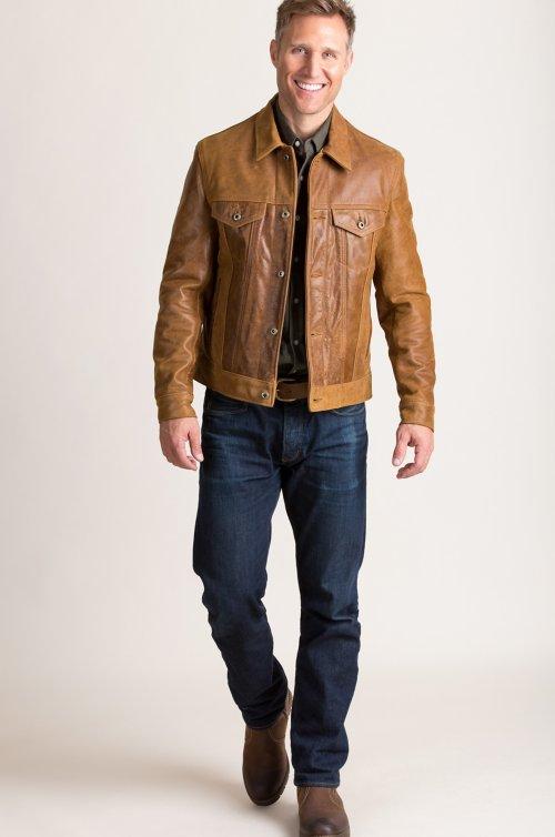 Rebel Leather Moto Jacket