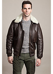 Cockpit USA U.S. Navy G1 Calfskin Leather Bomber Jacket