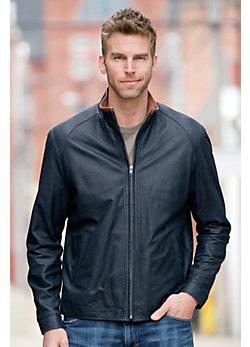 Franklin Lambskin Leather Jacket