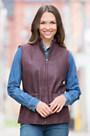Fleming Lambskin Leather Vest
