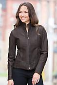 Melissa Nubuck Lambskin Leather Jacket