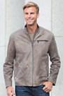 Jarvis Italian Lambskin Leather Jacket