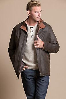 Blaze Lambskin Leather Coat
