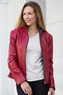 Jocelyn Lambskin Leather Jacket