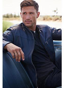 Cassidy Italian Lambskin Leather Jacket