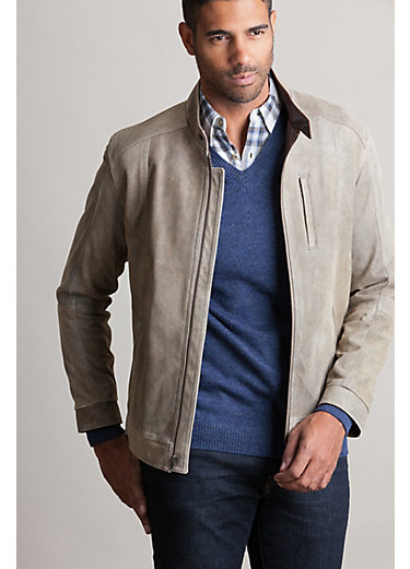 Brett Italian Lambskin Leather Moto Jacket
