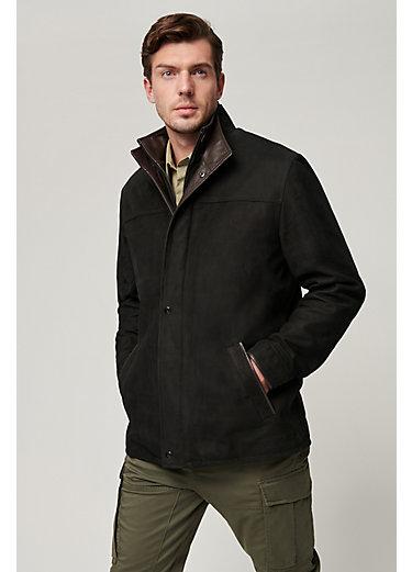 Simon Italian Lambskin Leather Jacket
