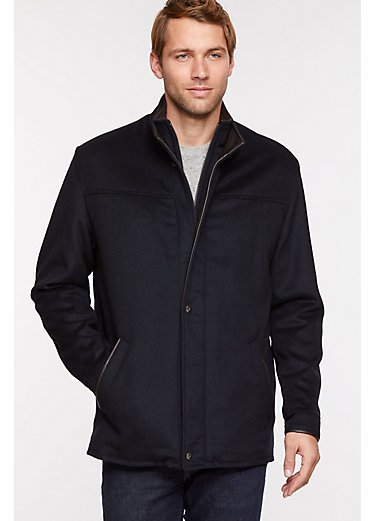 Simon Wool and Cashmere Jacket
