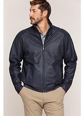 Andrew Italian Lambskin Leather Jacket