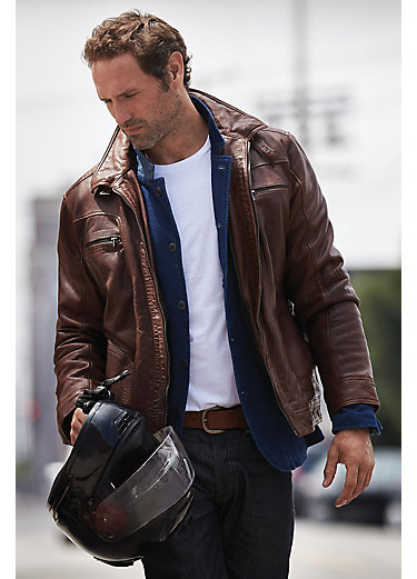 Mens leather jacket dublin