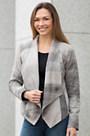 Levina Nubuck Lambskin Leather Jacket