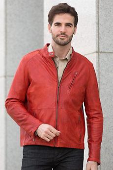 Alfred Lambskin Leather Jacket