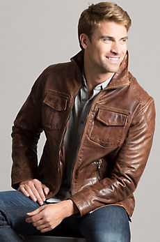 Heath Lambskin Leather Jacket