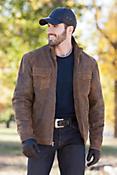 Flint Antique Lambskin Leather Jacket