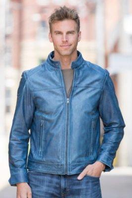 Helm Lambskin Leather Jacket