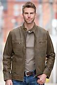 Aston Lambskin Leather Jacket
