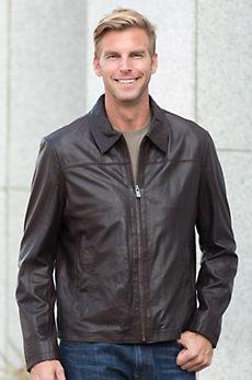 Alfie Lambskin Leather Jacket
