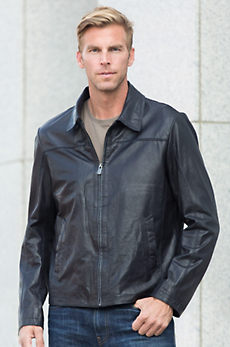 Alfie Lambskin Leather Jacket
